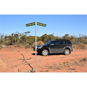 Cooltong Conservation Park Boundary Track Junction