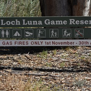 Loch Luna Game Reserve Boundary