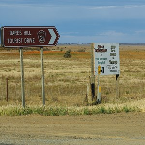 Dares Hill Tourist Drive Turn Off