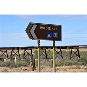 Muloorina Station Turn Off