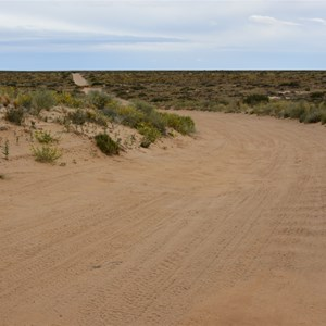 Crest On Lake Eyre Road