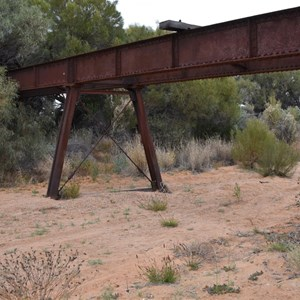 Callanna Creek Railway Bridge