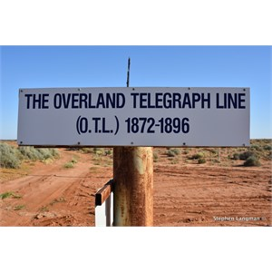 The Overland Telegraph Line Memorial