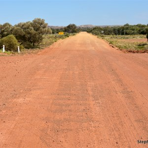 Kempe Road - Oodnadatta Track Intersection