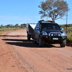 Flood Detour Track & Oodnadatta - Hamilton Track