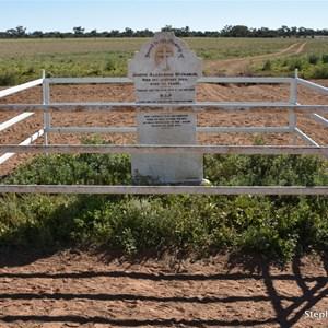 Joseph Alexander McPharlin Lonely Grave