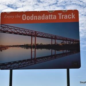 Oodnadatta Track Sign