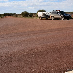 Painted Desert Road & Stuart Highway Intersection