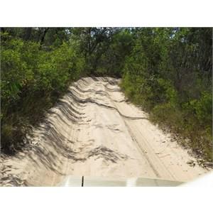 Soft sand section serene