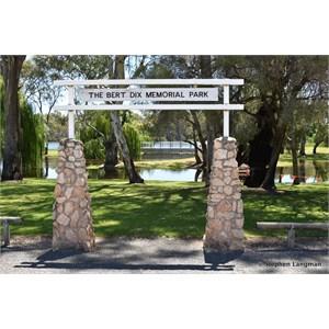 Bert Dix Memorial Riverside Park