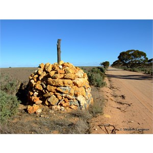 State Border Survey Cairn