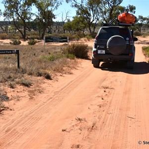Murray Sunset National Park Boundary Sign