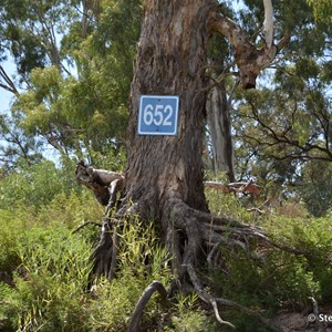 Murray River 652 Marker Sign