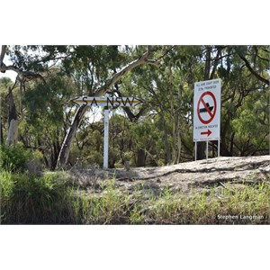 South Australia - New South Wales Murray River Border Marker