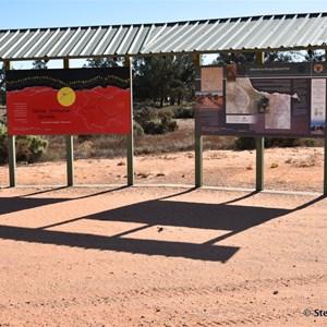 Mungo National Park Boundary Sign