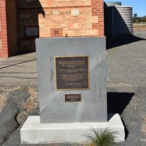 Stanley Flat Soldiers Memorial Hall