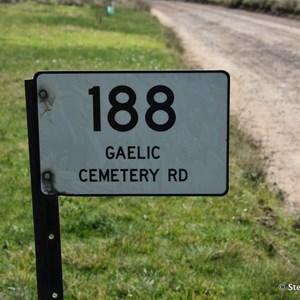 White Hut Gaelic Cemetery