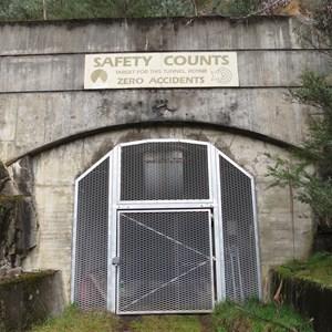 Adit portal