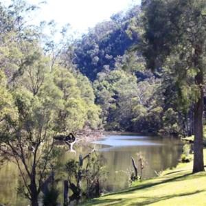 Reynolds Creek below the dam