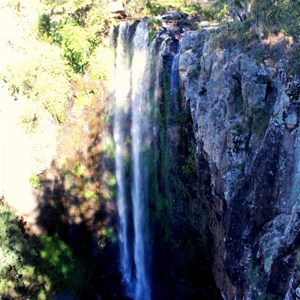 The 40 metre drop of Queen Mary Falls