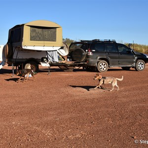 Old Gravel Pit Camping location