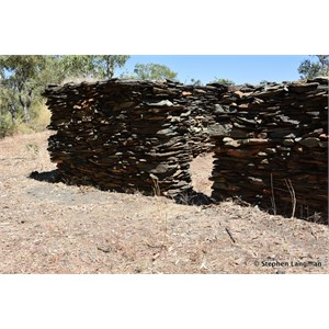 Old Stone Hut Ruins