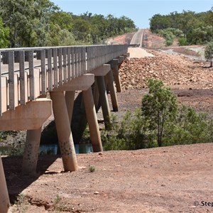 New Goyder River Crossing Bridge