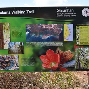 Walwuluma Walking Trail Information Sign