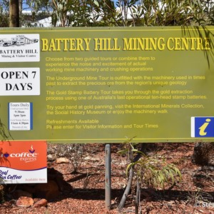 Battery Hill Mining Centre and Tennant Creek Visitor Information Centre
