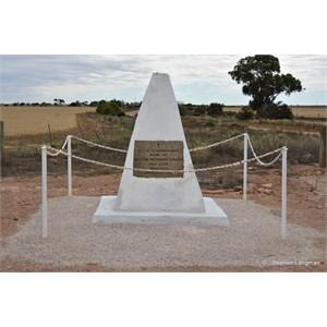 Bagster Memorial Cairn