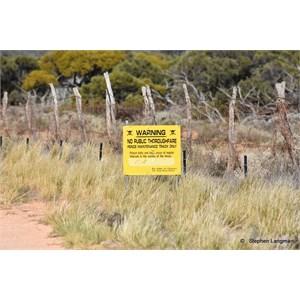Dog Fence Ooldea Road