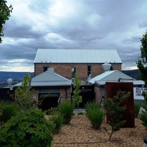 The Pump House Restaurant overlooks Megalong Valley