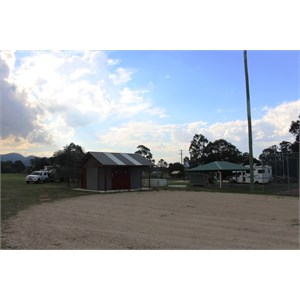 Bulga toilets and barbecue area