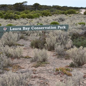Laura Bay Conservation Park Boundary Sign