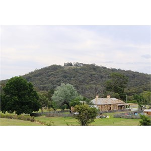 Bald Hill Lookout viewed from Hill End Village