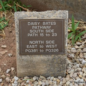 Daisy Bates Grave at North Road Cemetery