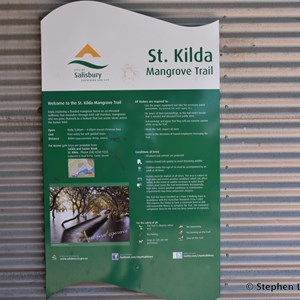 St Kilda Mangrove Trail and Interpretive Centre - Entry Gate