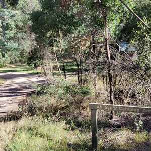 Entry to the campground