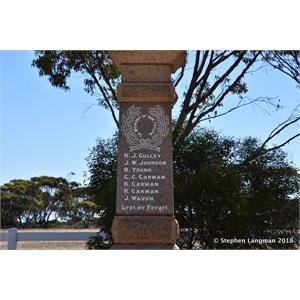 Tickera War Memorial