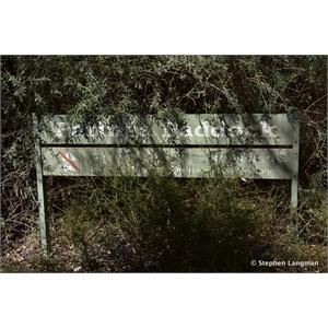 Paringa Paddock Information Sign