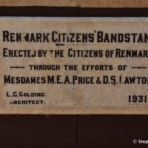 Renmark Bandstand