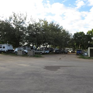 Crowded campsite conditions