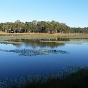 Lake Kurwongbah near Forgedale Brisbane Farmstay
