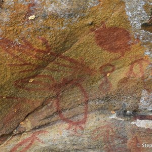 Aboriginal Rock Art Site