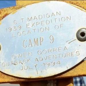 Camp 9 Plaque