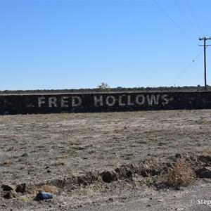 Fred Hollows Vision Way Memorial Walls
