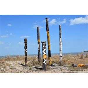 Bouchat Totem Poles