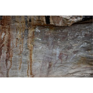 Split Rock Aboriginal Art Site