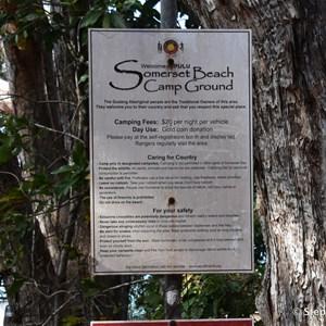 Somerset Beach Camping Area