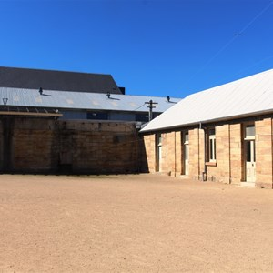 The parade ground in the convict area